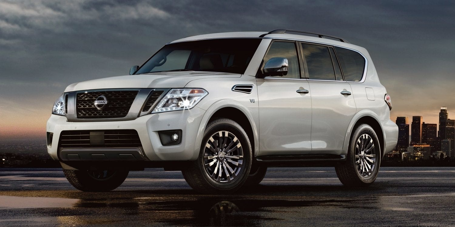 2019 Nissan Armada Features near Attleboro, MA