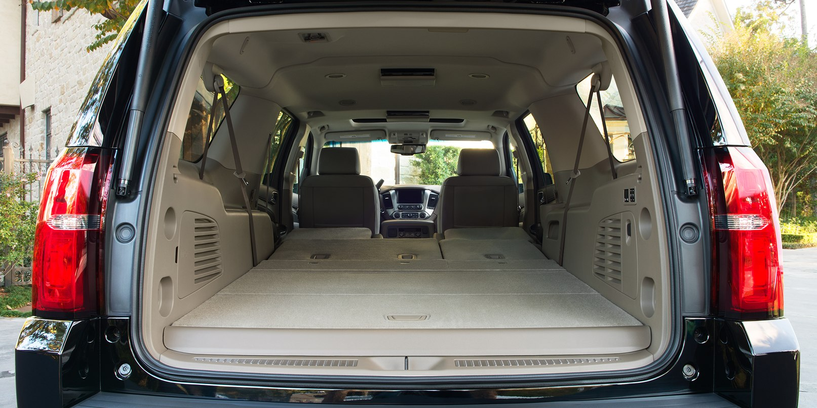 Spacious Cabin of the Chevrolet Suburban
