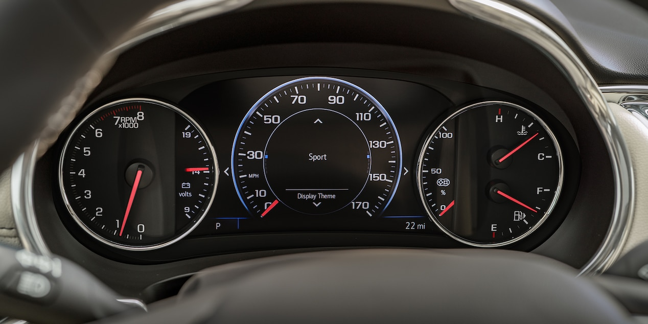 Driver Display in the 2019 Malibu