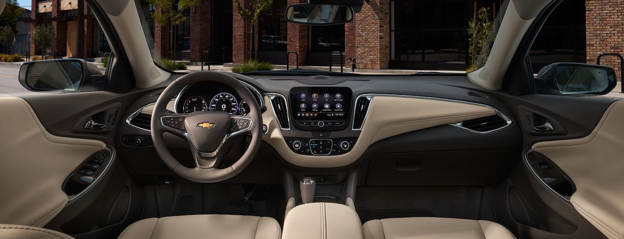 Cabin of the Chevrolet Malibu