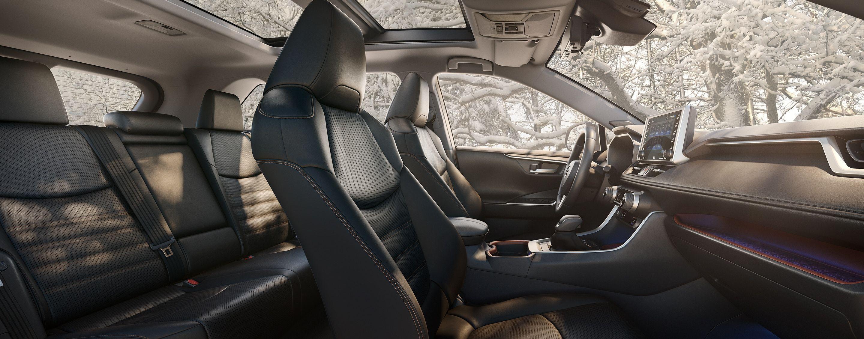 2019 Toyota RAV4 Spacious Interior