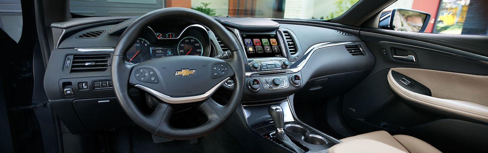 Stylish Interior of the 2019 Impala