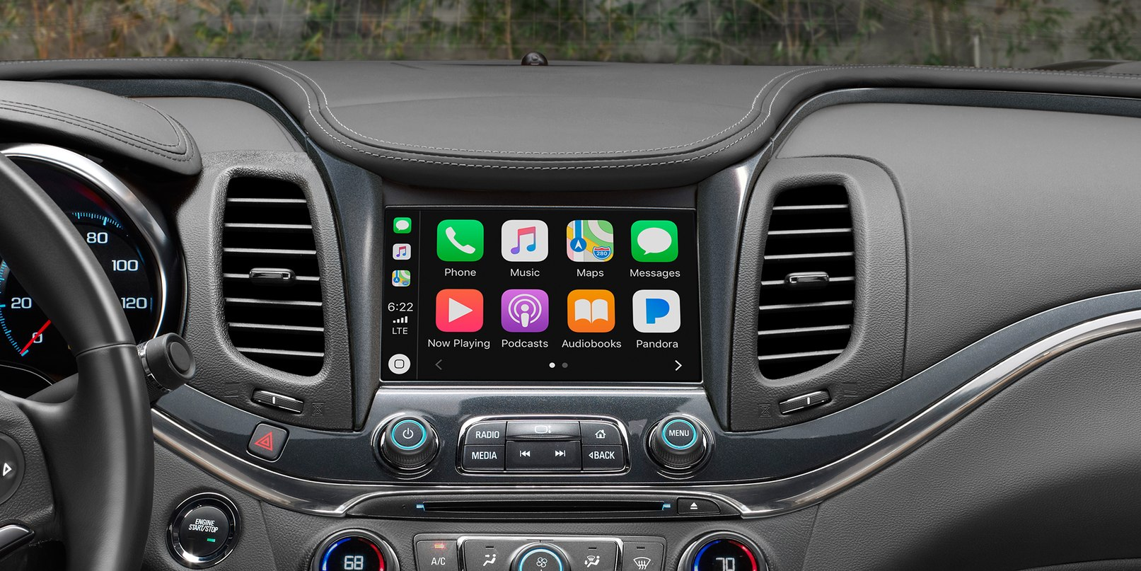 Apple CarPlay in the Chevrolet Impala