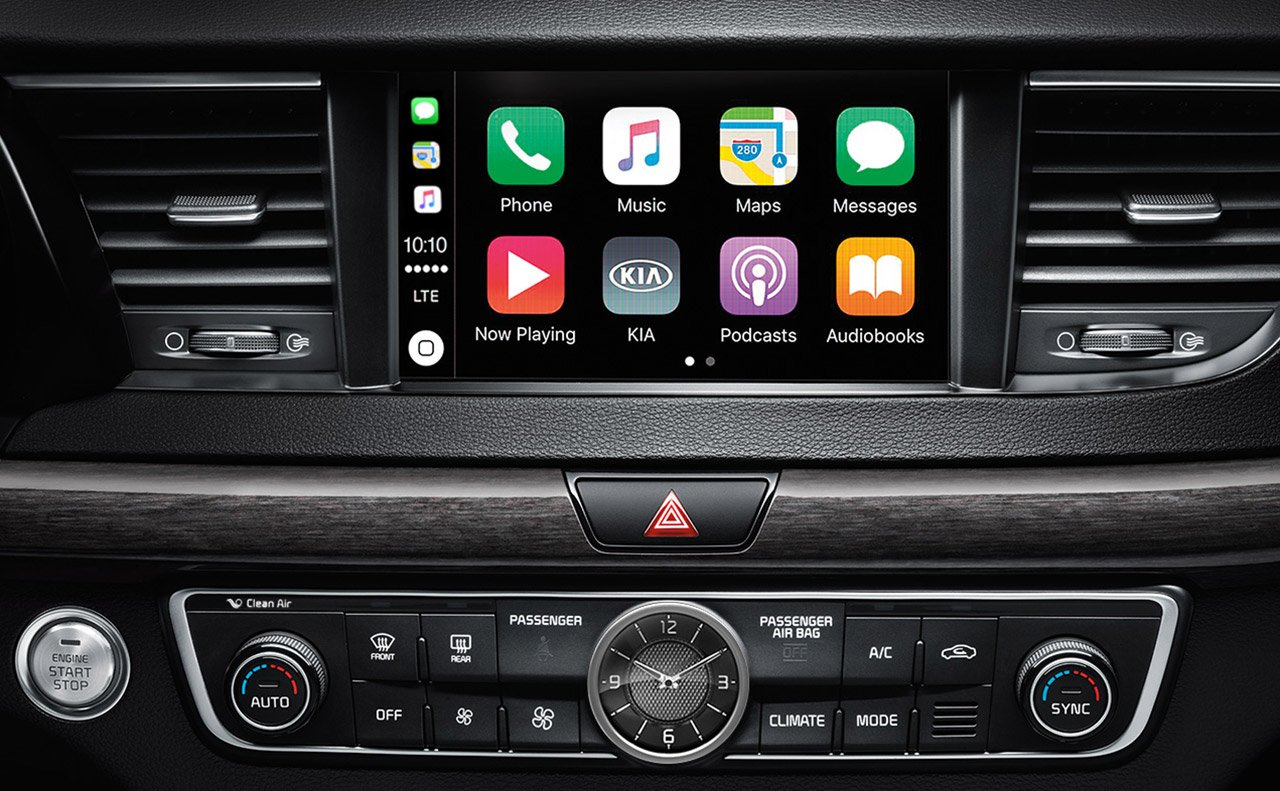Apple CarPlay in the Kia Cadenza