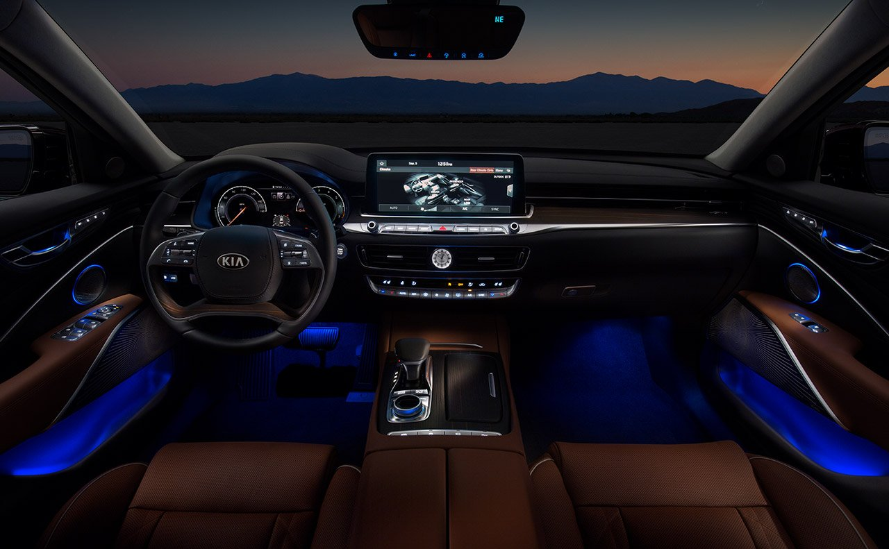Striking Cabin of the 2019 K900