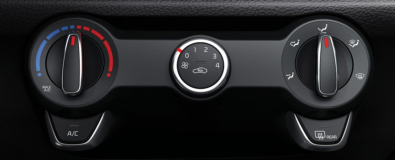 Climate Control in the Kia Rio