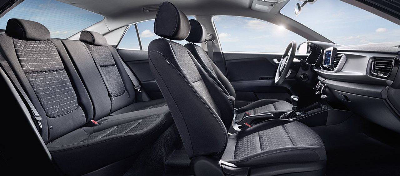 Cozy Interior of the 2019 Kia Rio