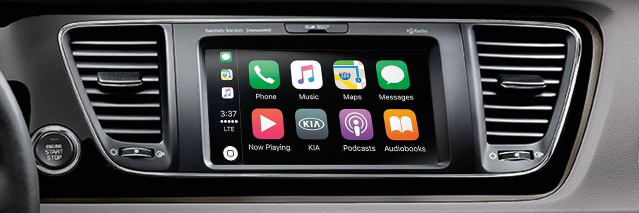Apple CarPlay in the Kia Sedona
