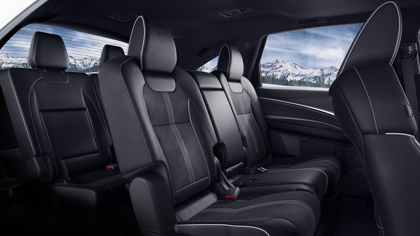 Spacious Cabin of the 2019 MDX