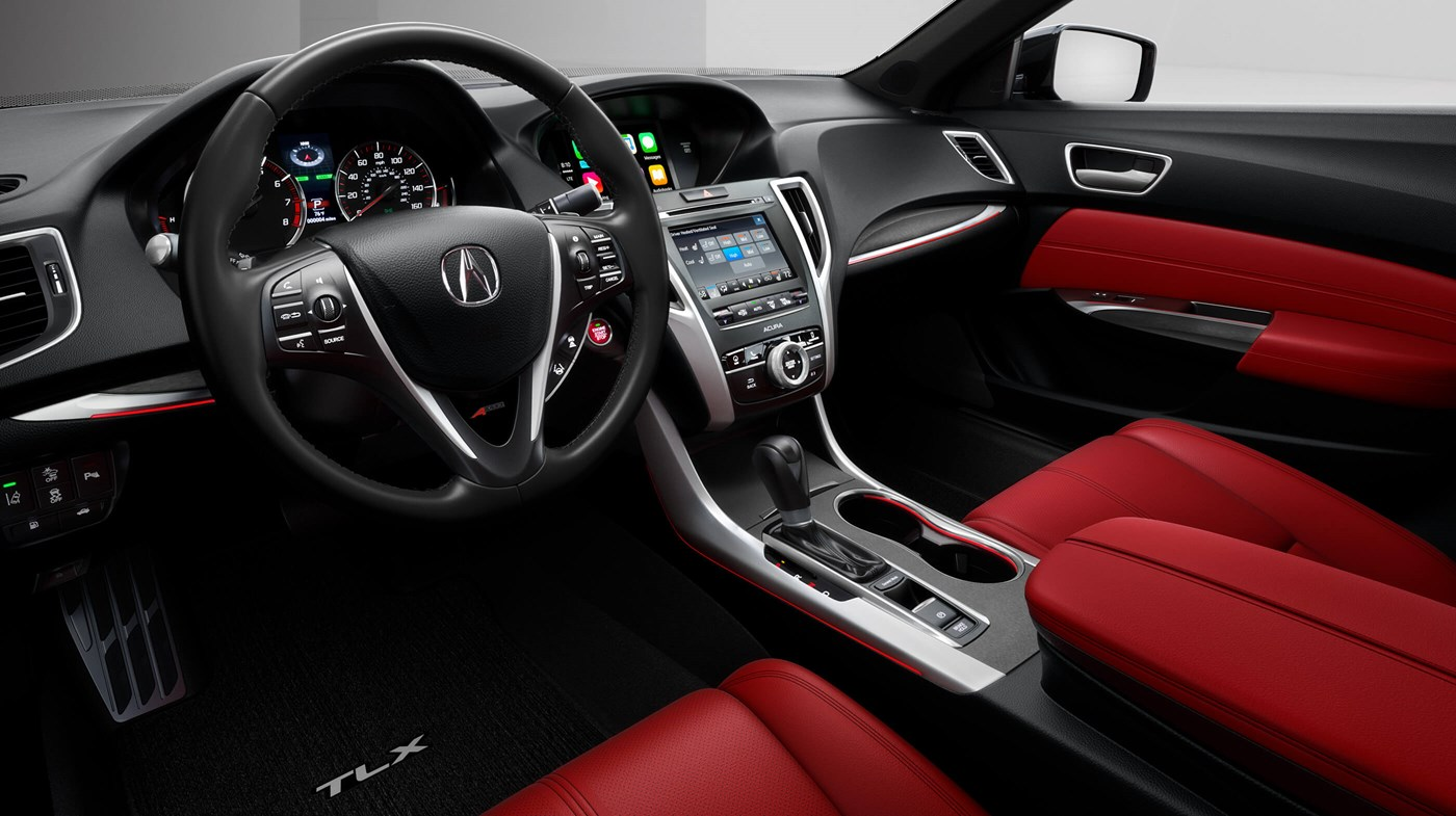 Stylish Interior of the Acura TLX