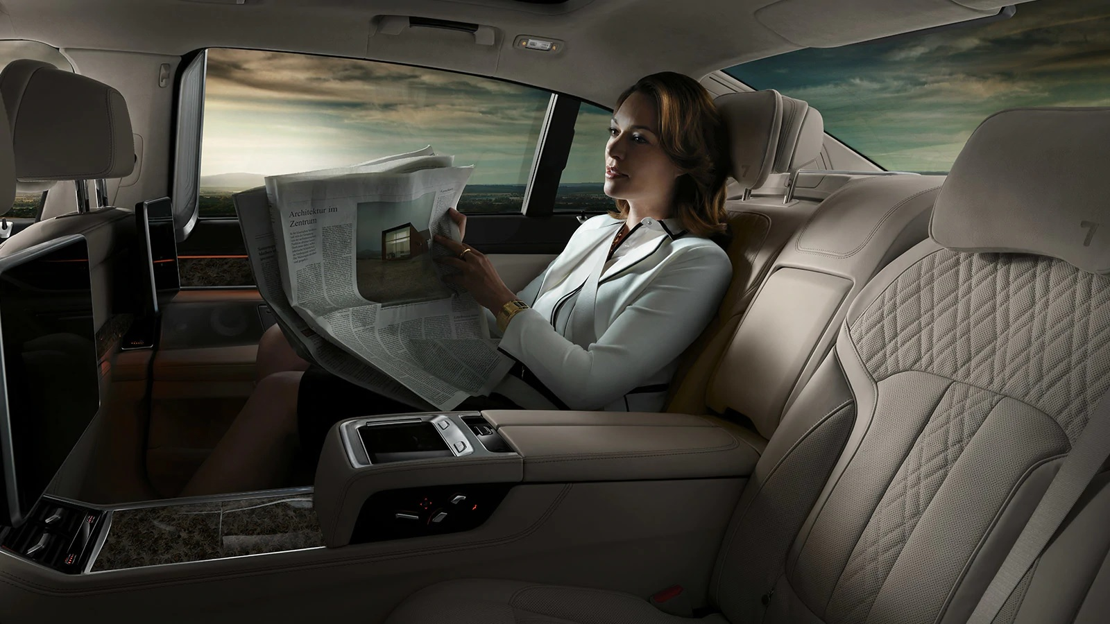 Enjoy Optimum Comfort During Any Drive in the 7 Series!