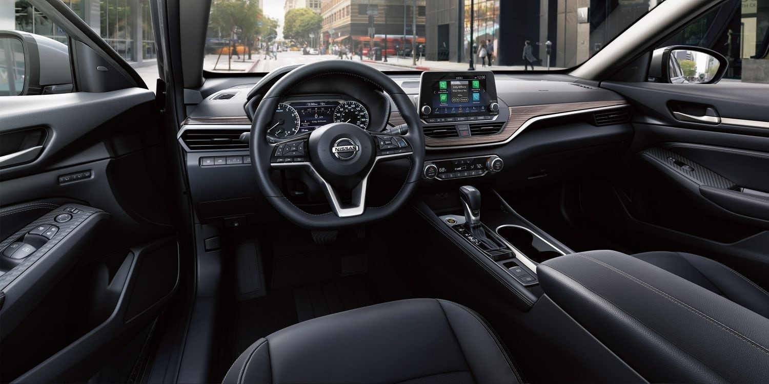 Interior of the 2019 Nissan Altima