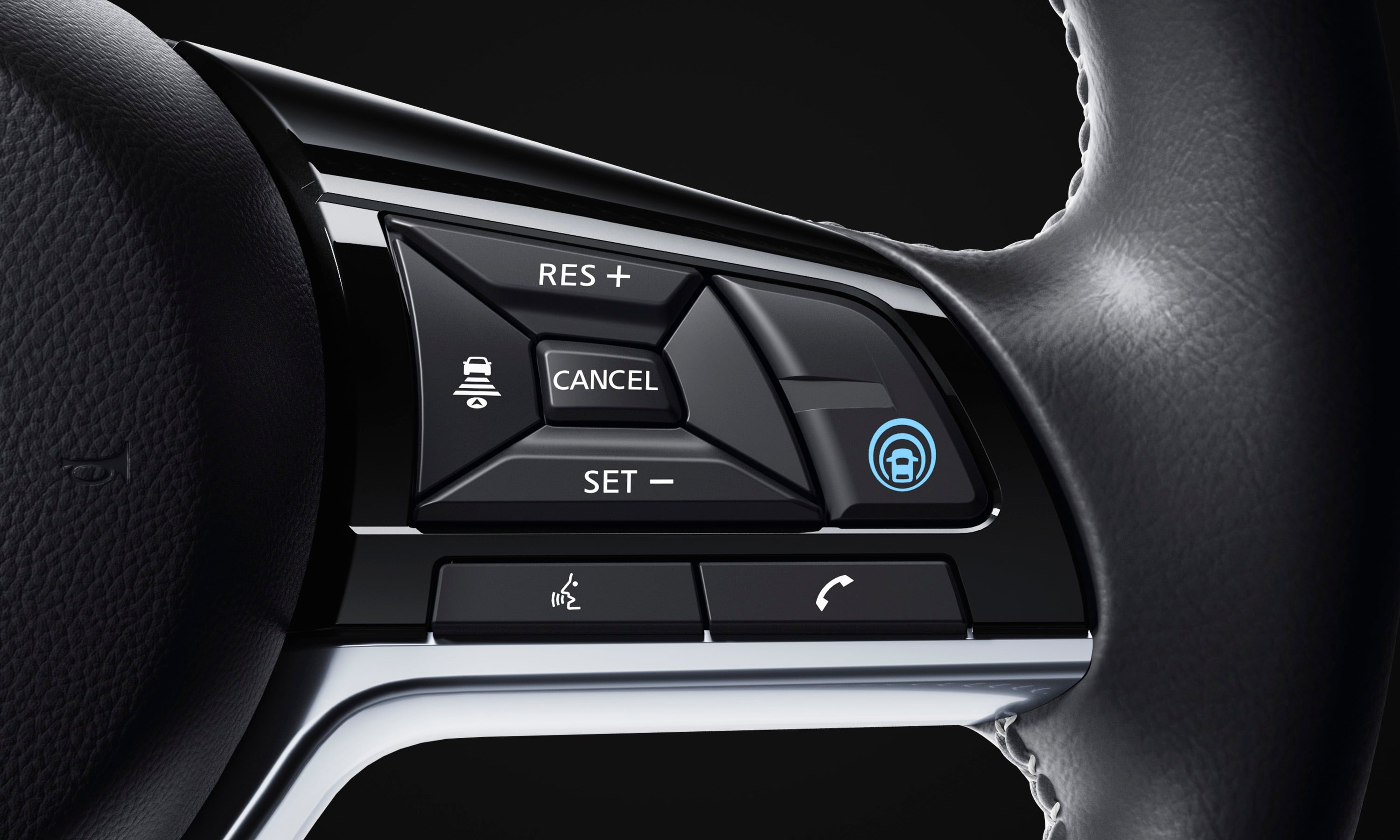 Steering Wheel Mounted Controls in the 2019 Altima