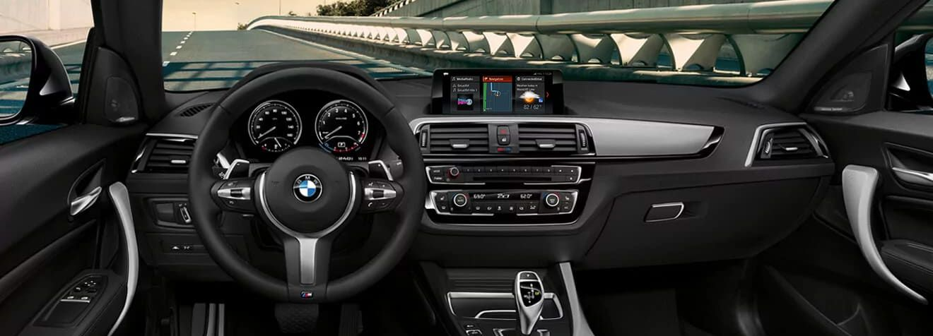 Cabin of the BMW 2 Series