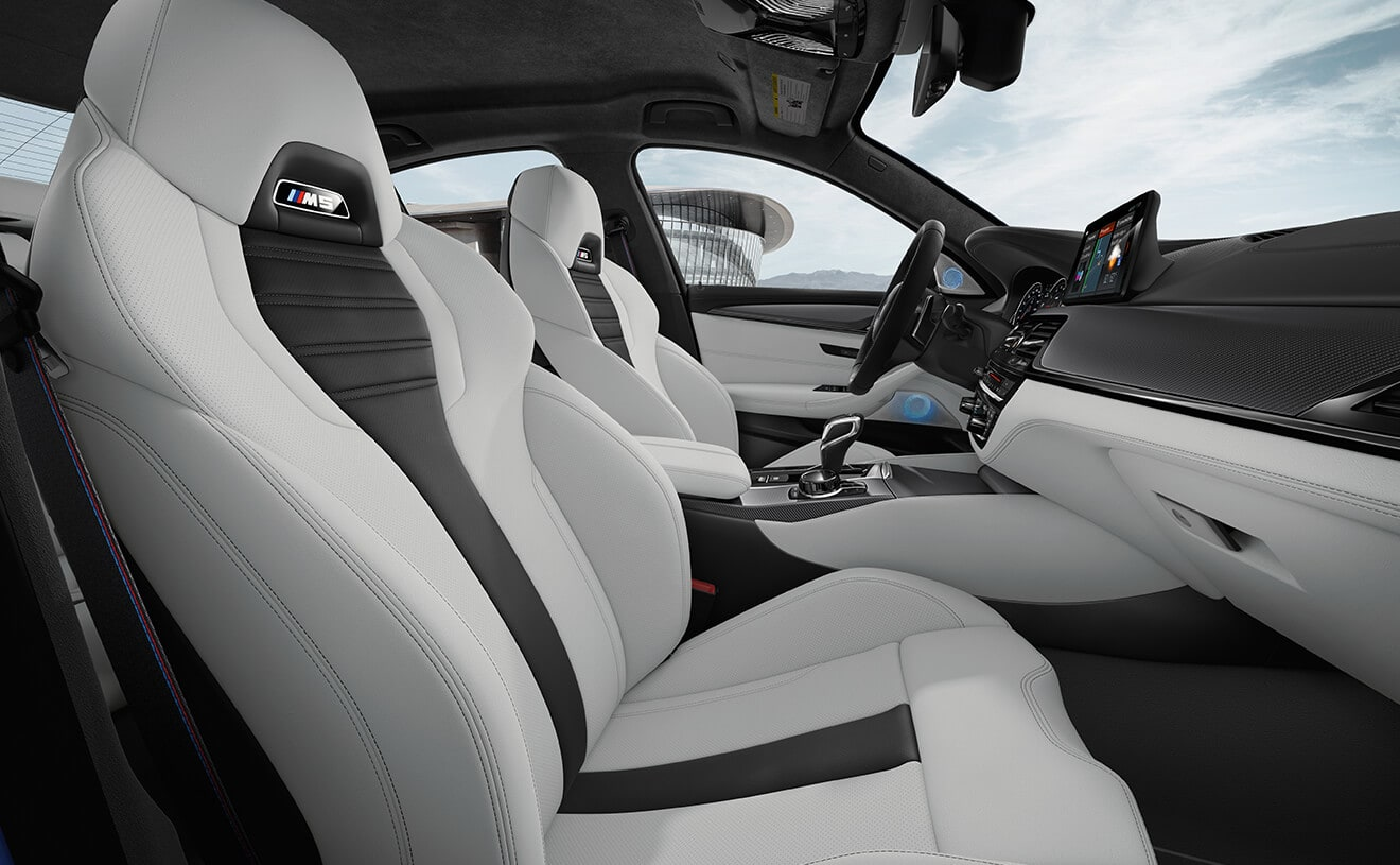 Premium Seating in the BMW M5