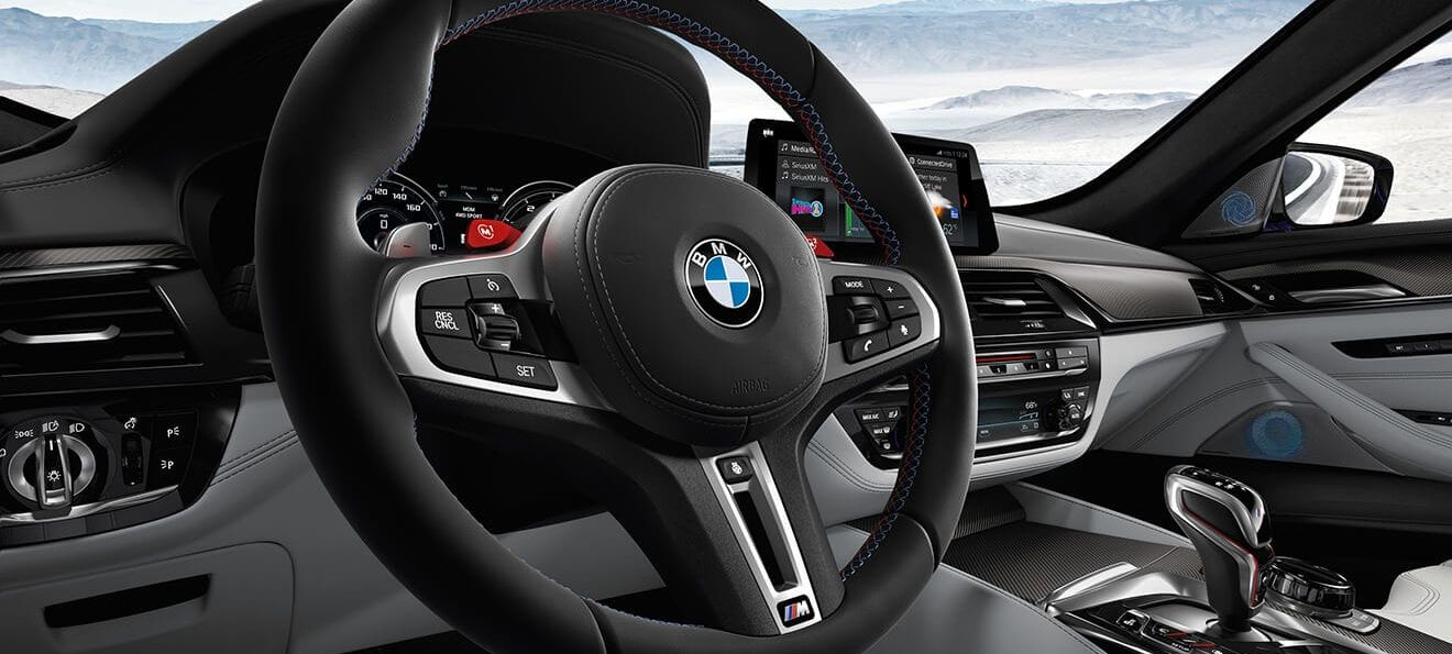 Steering Wheel in the 2019 M5