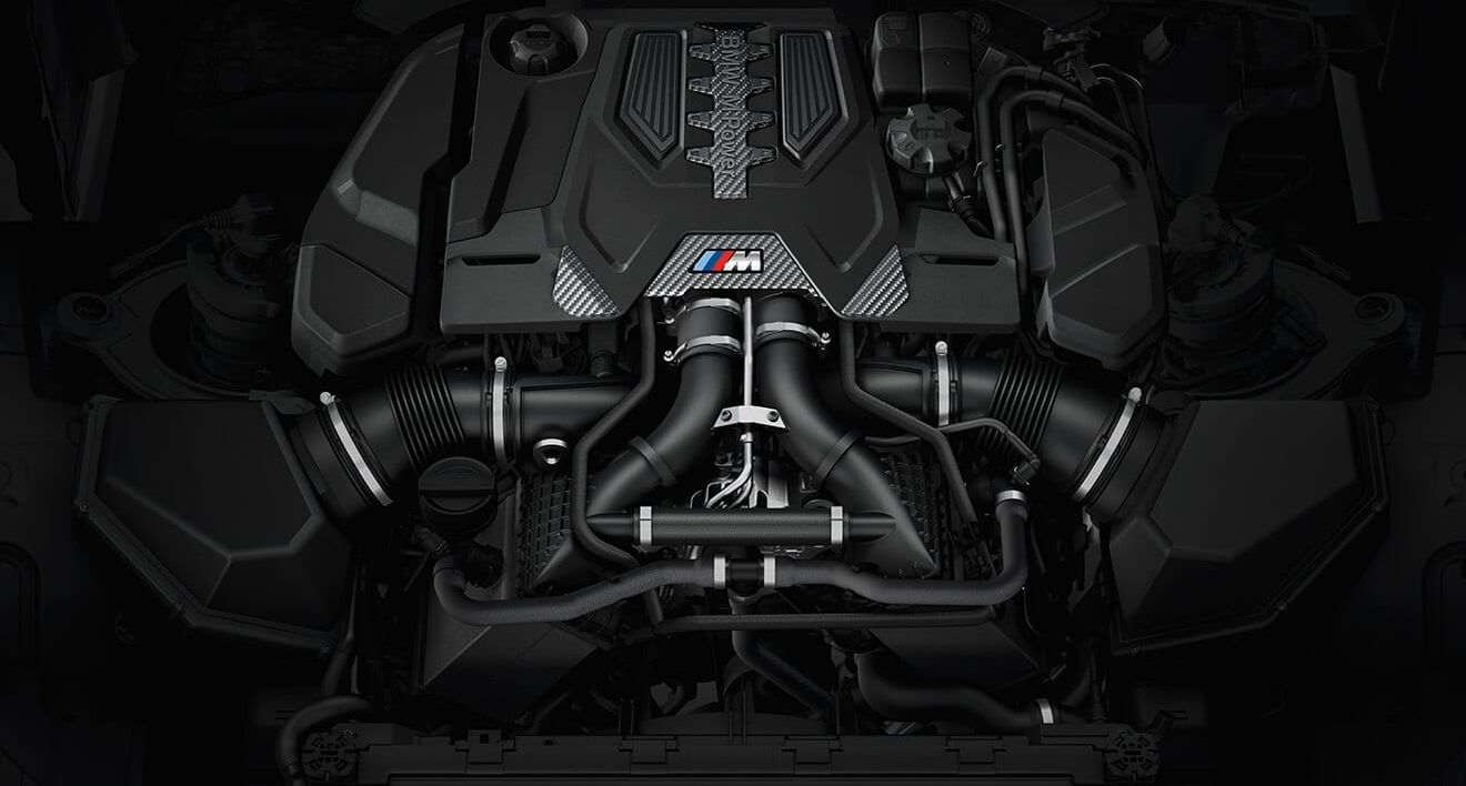 Engine in the 2019 BMW M5