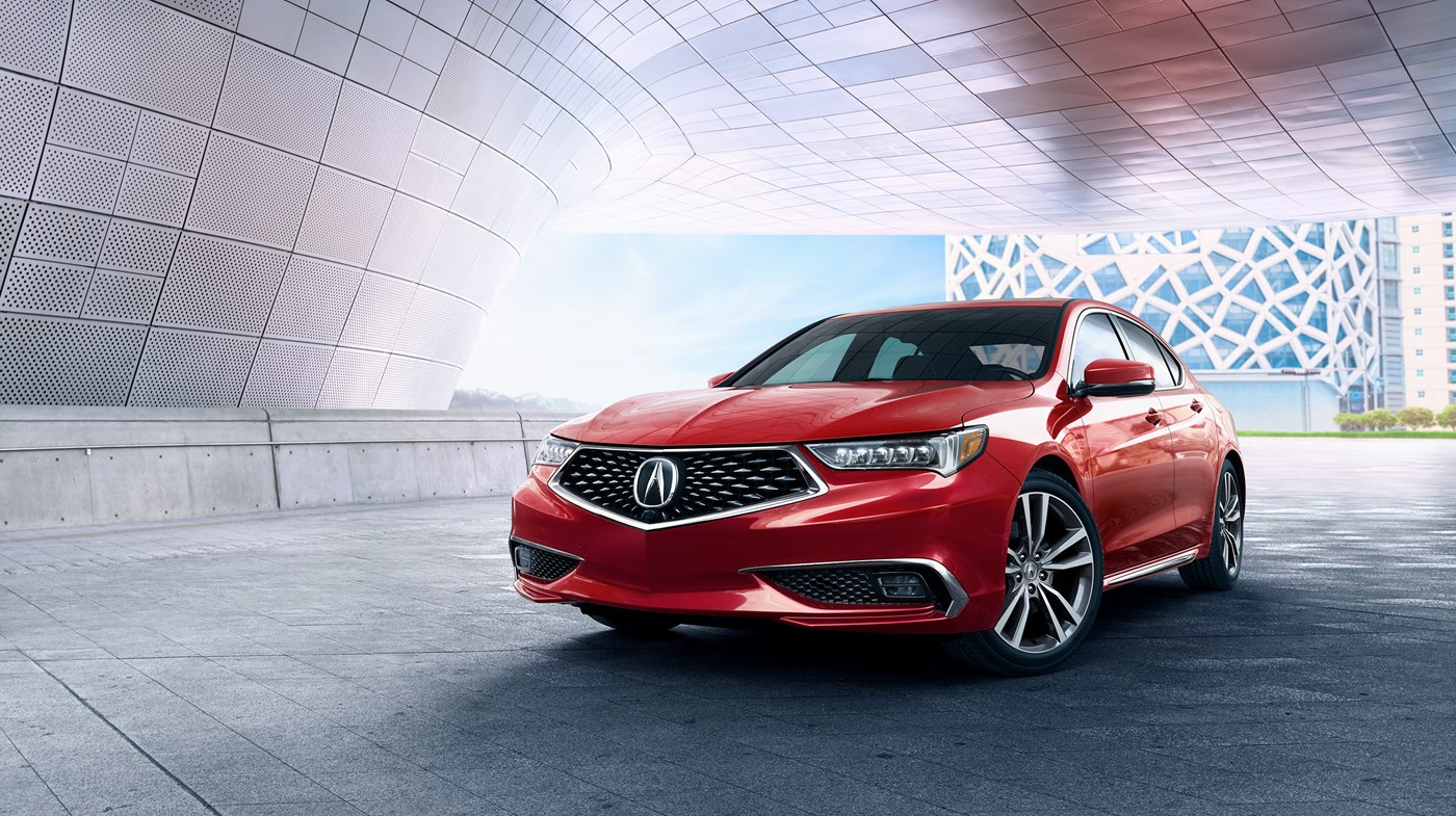 New 2019 Acura Tlx 3 5 V 6 9 At P Aws With A Spec Red