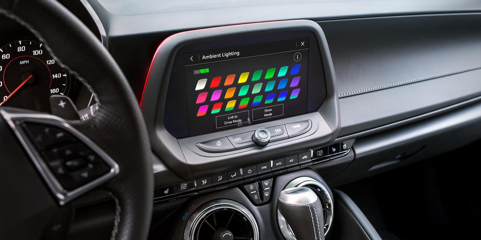 2019 Chevrolet Camaro Center Console
