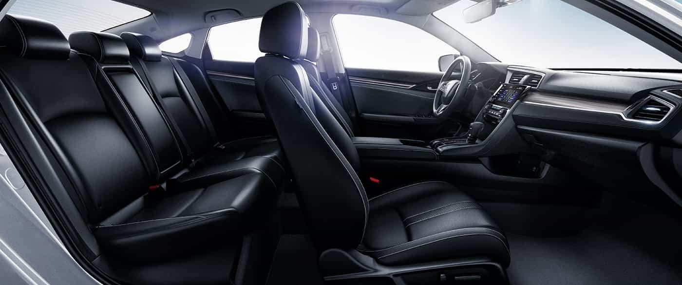 Spacious Interior of the Honda Civic
