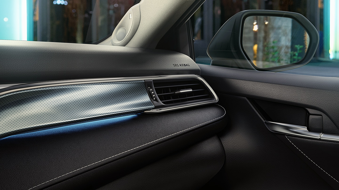 Eye-Catching Trims Inside the 2019 Camry!