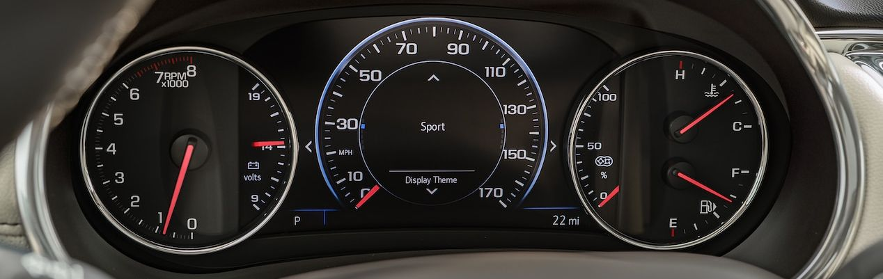 Instrument Cluster in the 2019 Malibu