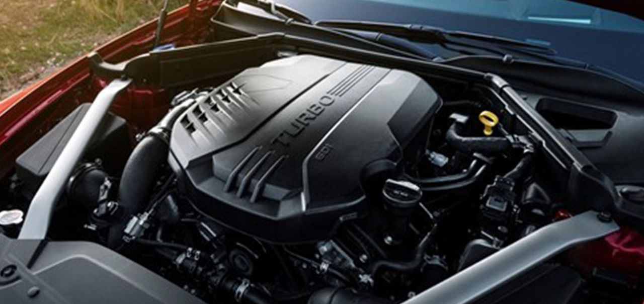 Optional Engine in the Kia Stinger