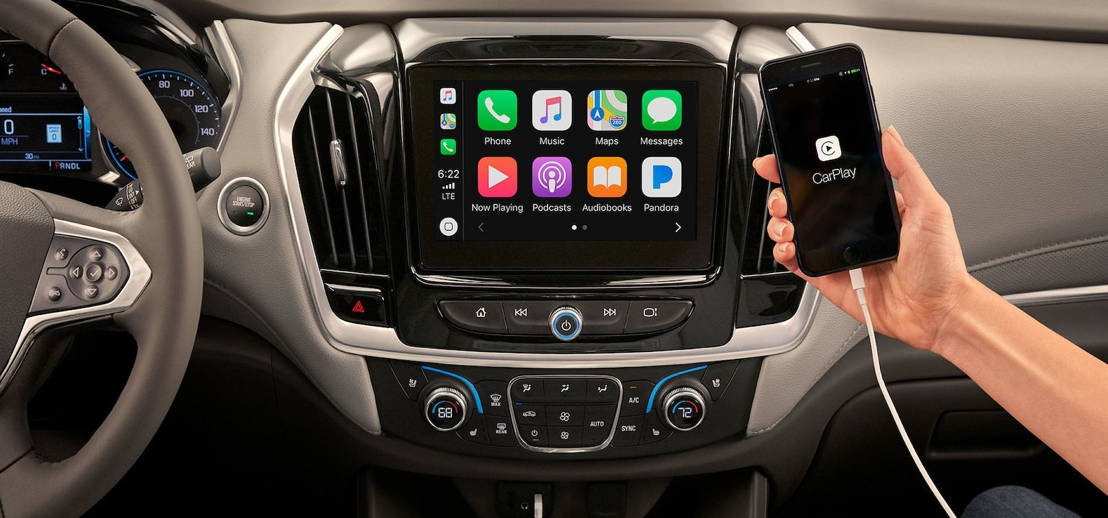 Technology in the Chevrolet Traverse
