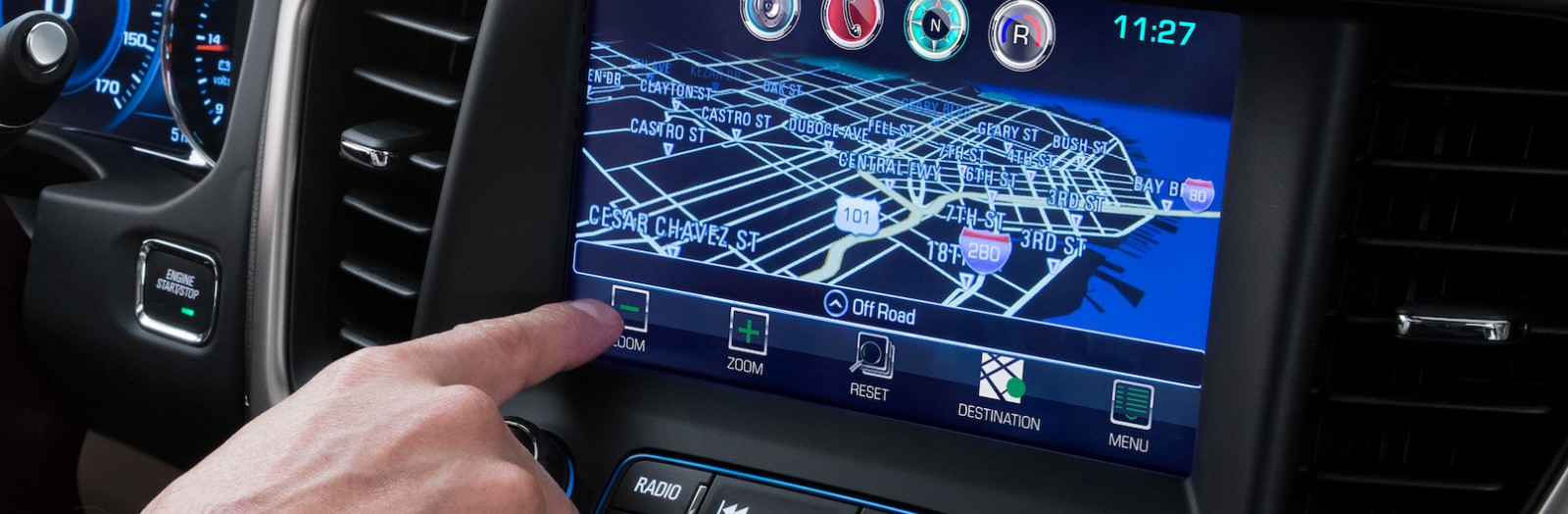 Technology in the 2019 Acadia