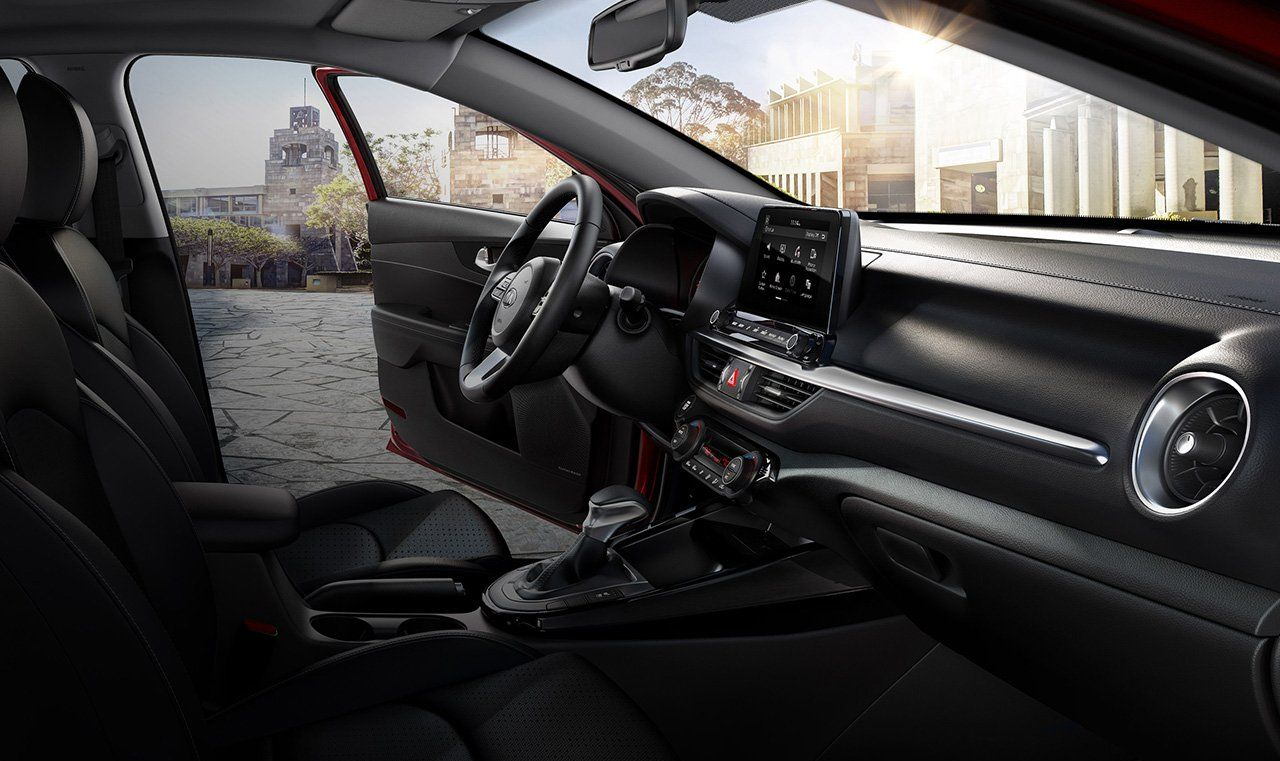 Interior of the Kia Forte