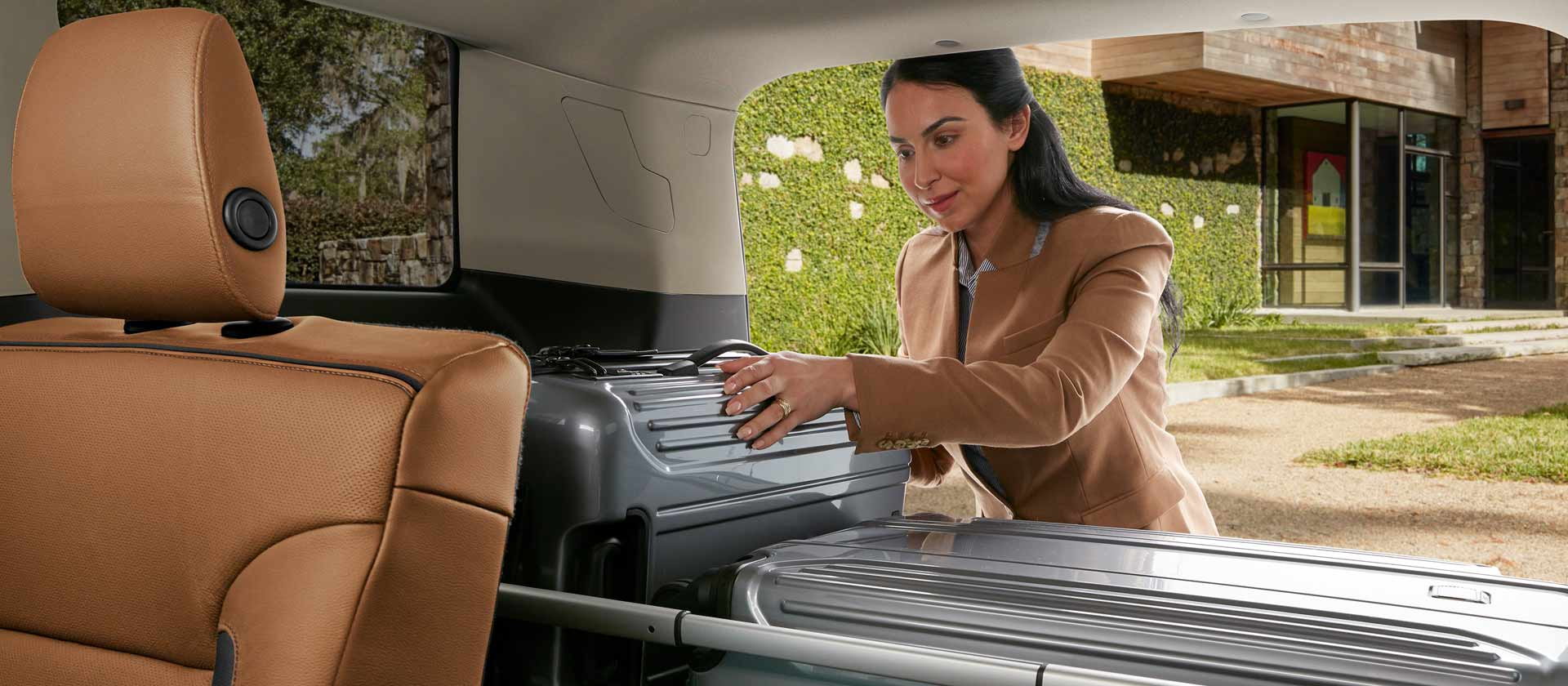 Easy Stowing in the 2019 Acadia