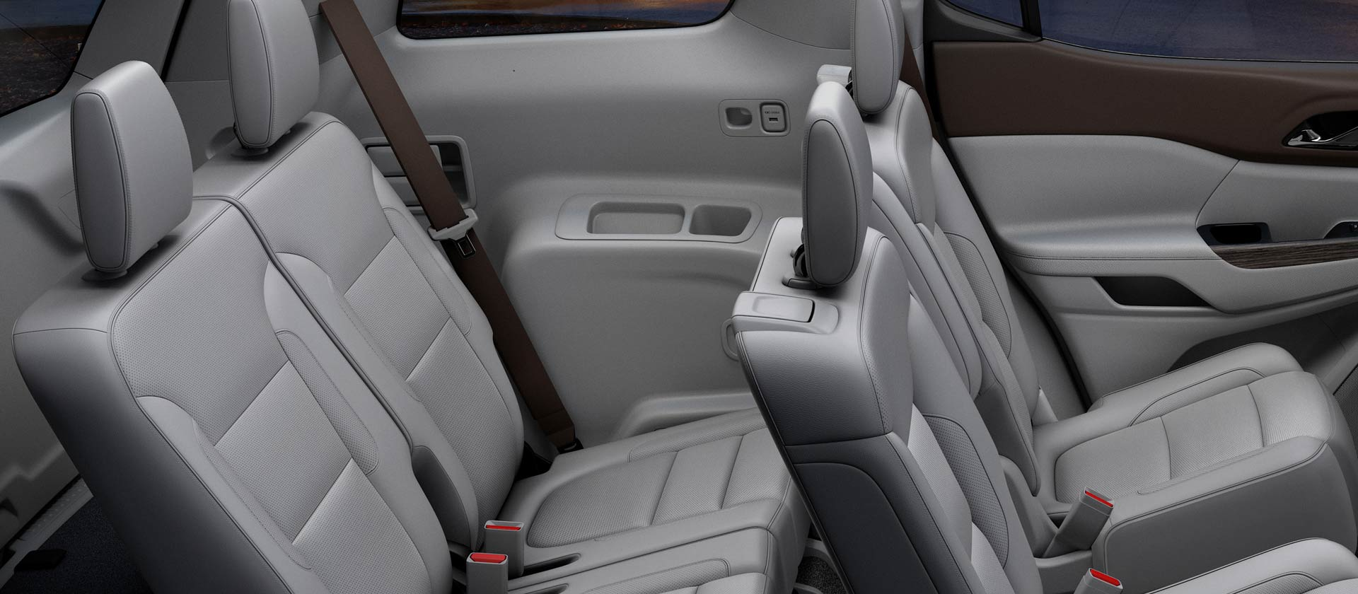 Spacious Seating in the GMC Acadia