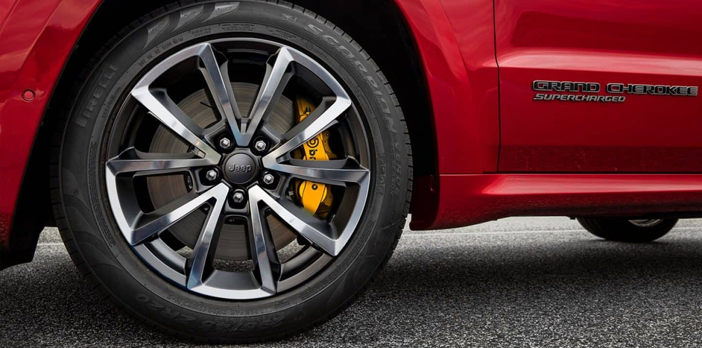 Striking Wheel Design of the 2019 Grand Cherokee