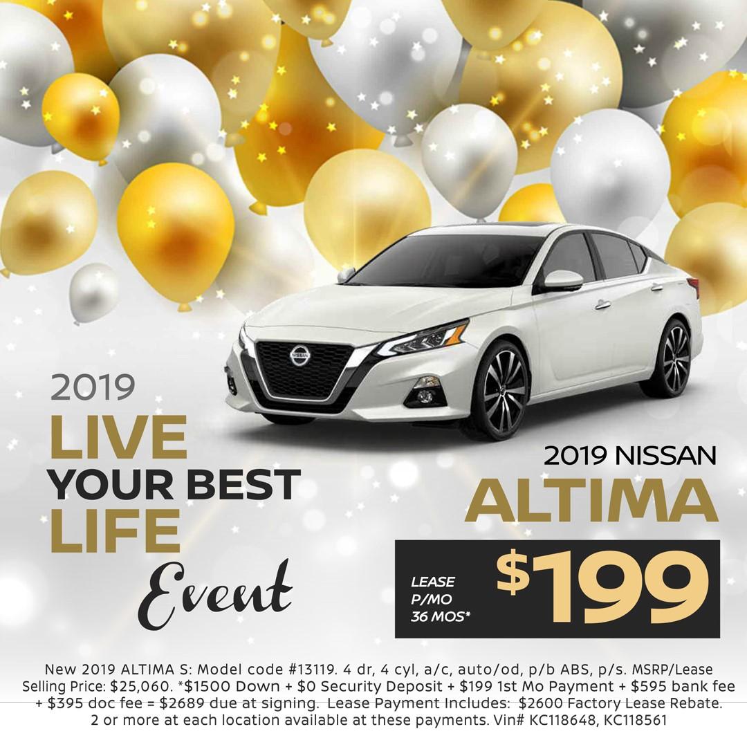 Nissan Lease Specials Pine Belt Nissan