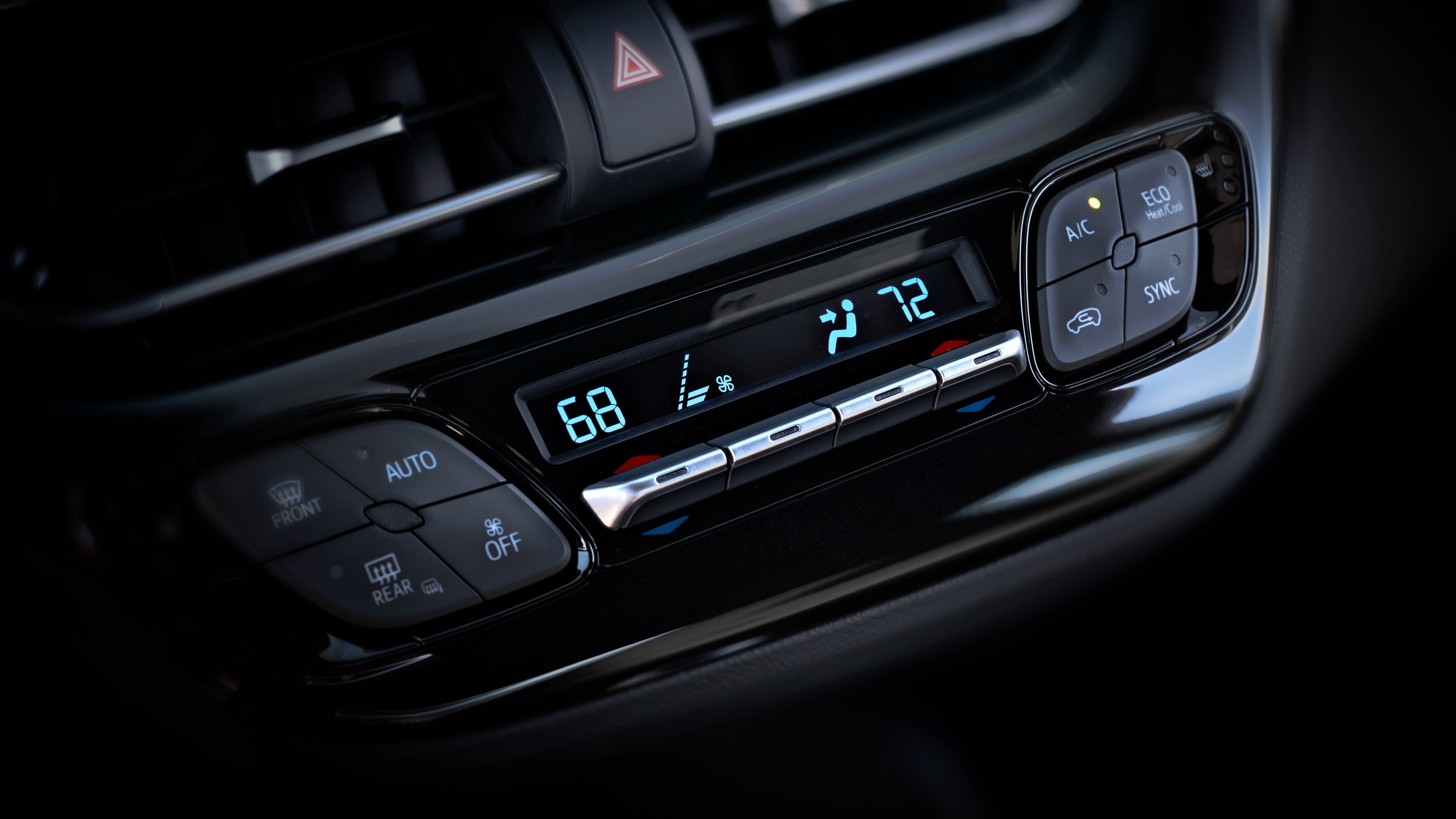 2019 Toyota C-HR's Dual Zone Automatic Climate Control