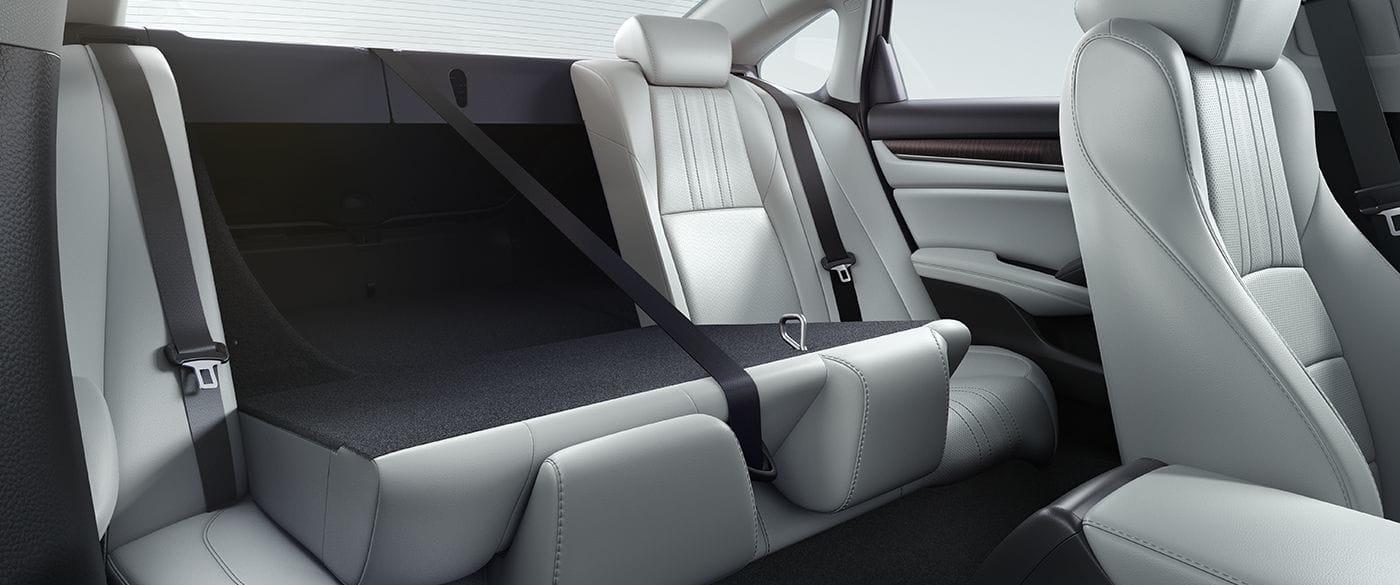 2019 Honda Accord's Split-Folding Rear Seats