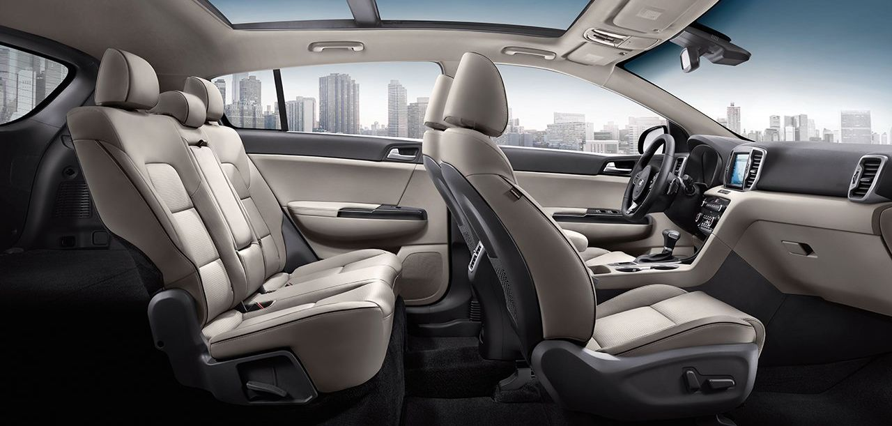 The Protected Cabin of the 2019 Kia Sportage
