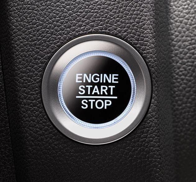 2019 Honda Fit's Push Button Start