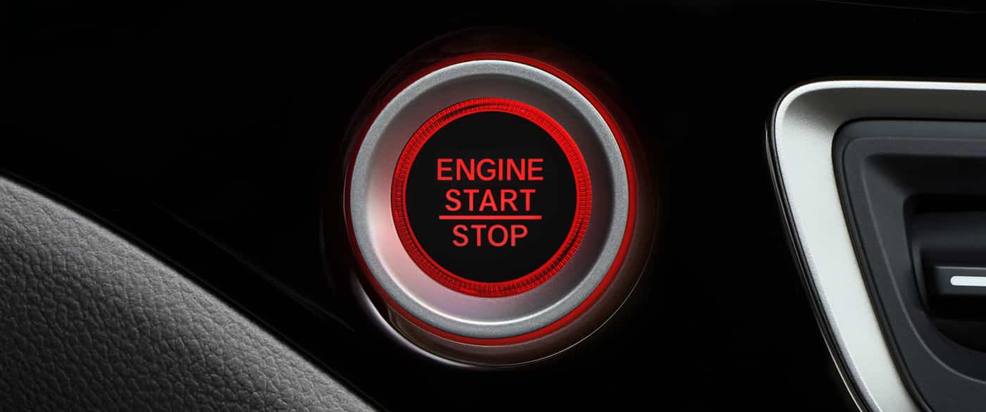 Push Button Start in the 2019 Pilot