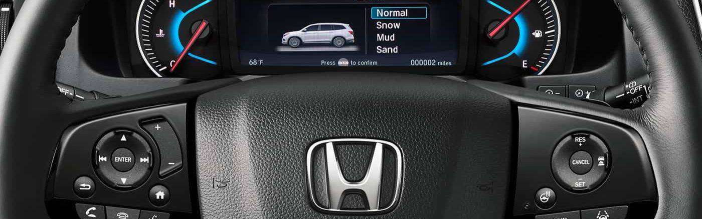 Drive Modes in the Honda Pilot