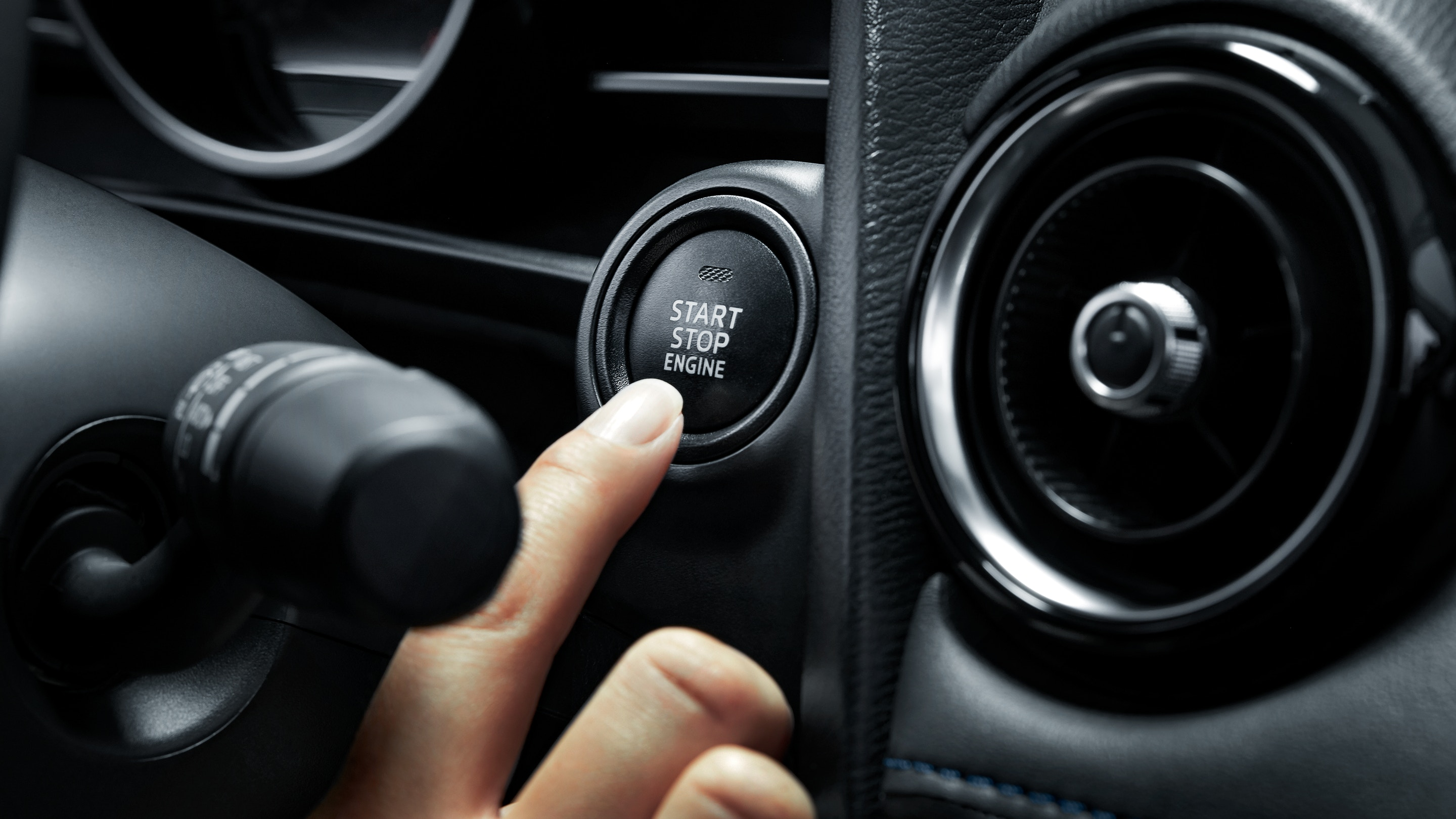 2019 Toyota Yaris' Push Start Button
