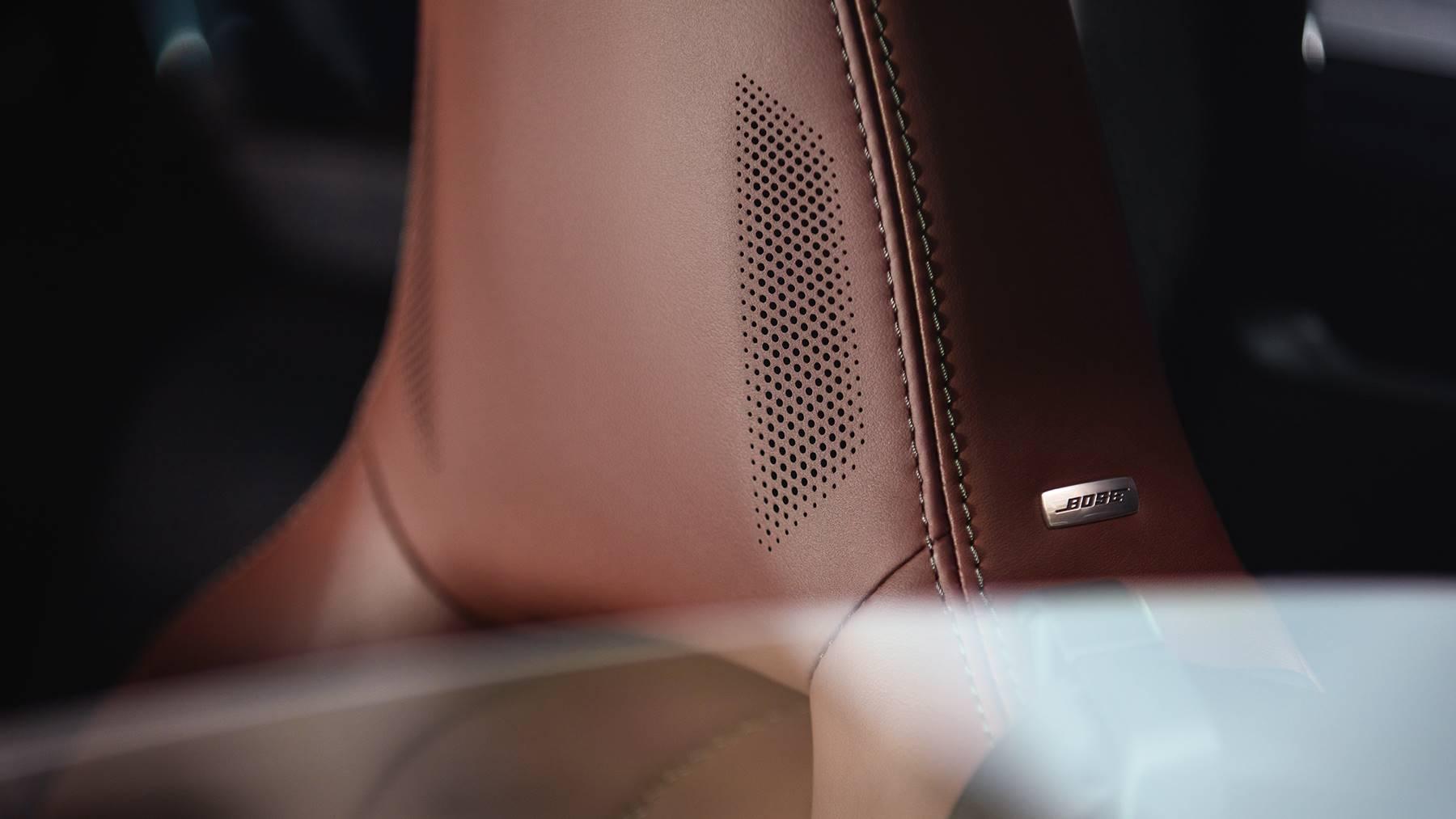 2019 Mazda MX-5 Miata RF's Fine Leather Detailing