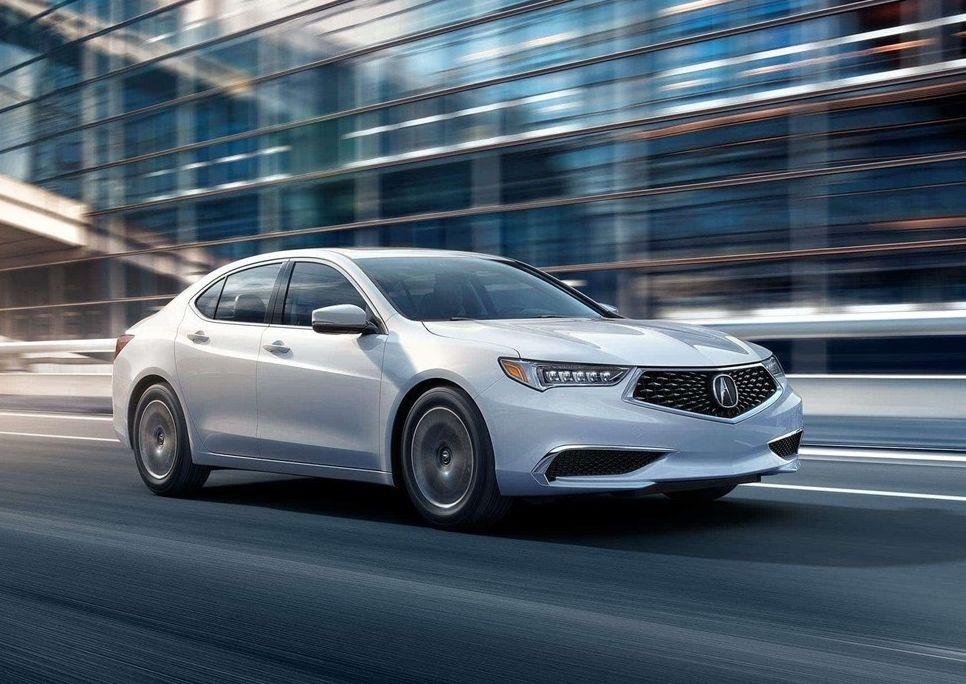 Acura TLX 2019 color Platinum White Pearl