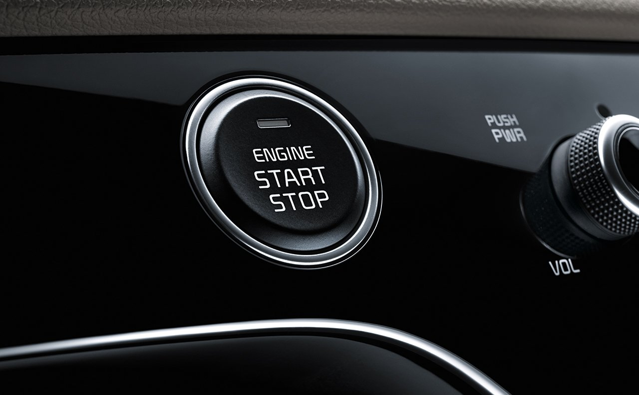 Turn the Sportage On with Just One Press!