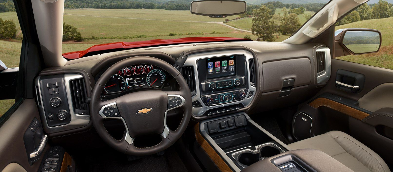 2019 Chevrolet Silverado Dashboard