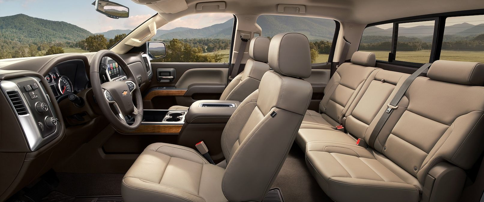 Luxurious Seating in the 2019 Chevrolet Silverado 1500