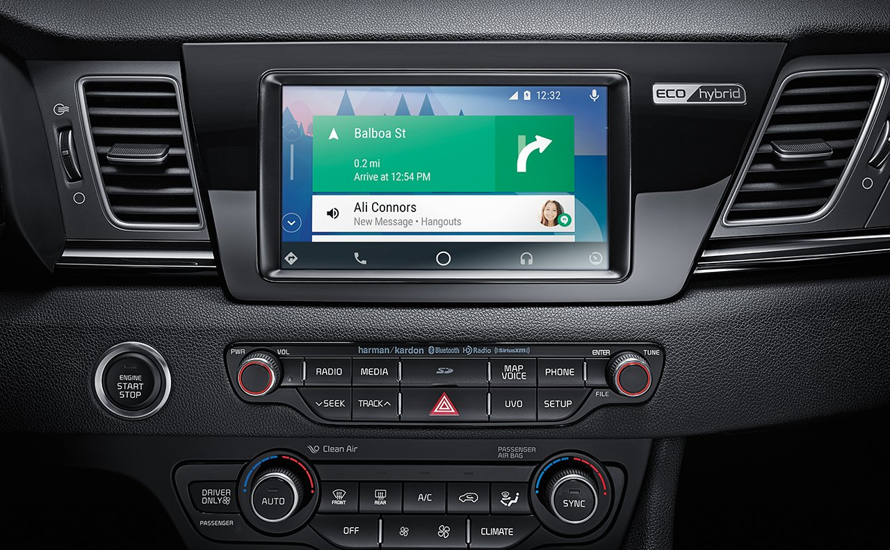 Access All Your Technology With the Tap of a Finger in the Niro!