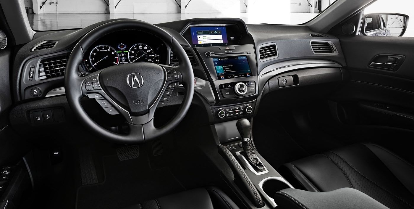Cabin of the Acura ILX