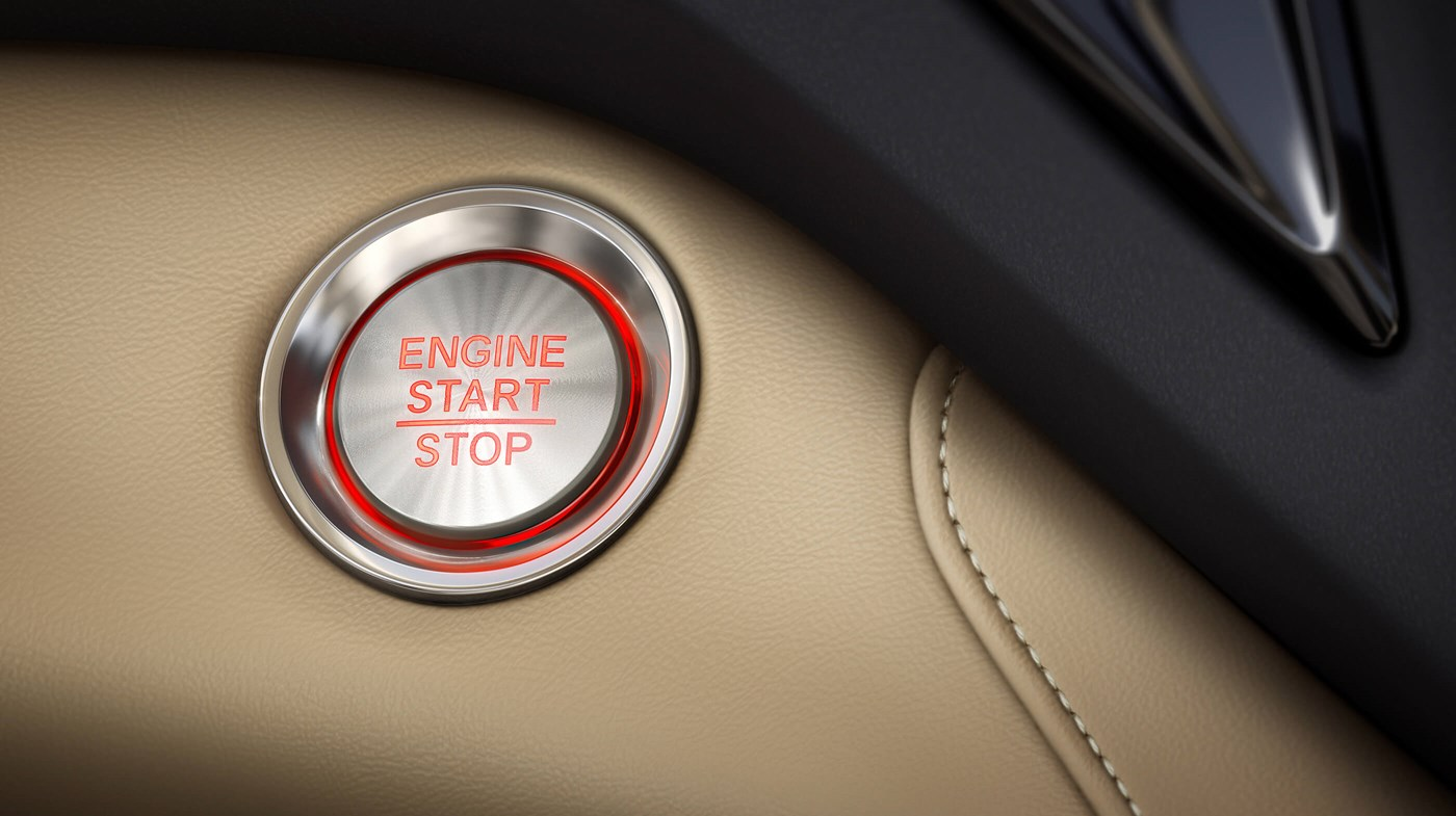 Push Button Start in the 2019 RDX