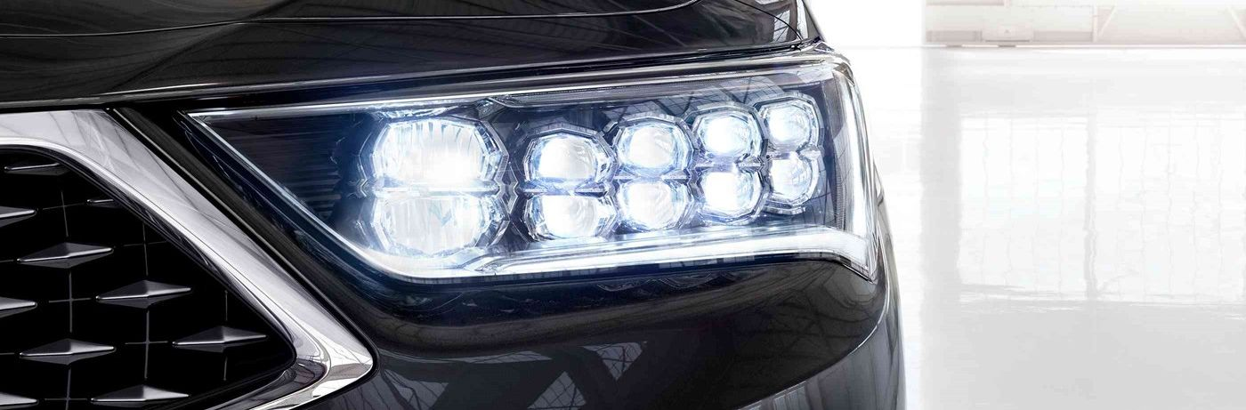 Jewel Eye Headlights of the 2019 RLX
